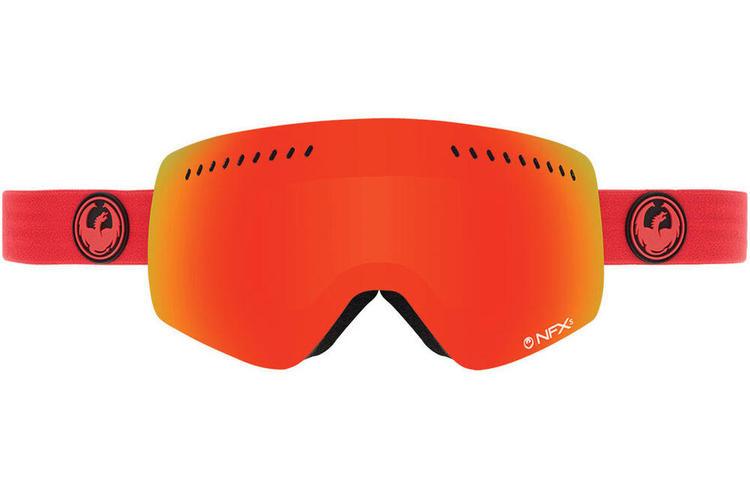 Dragon Alliance Nfxs Ski Ski Snowboard Goggle Bitter Red Ion Specia New Skiing Goggles