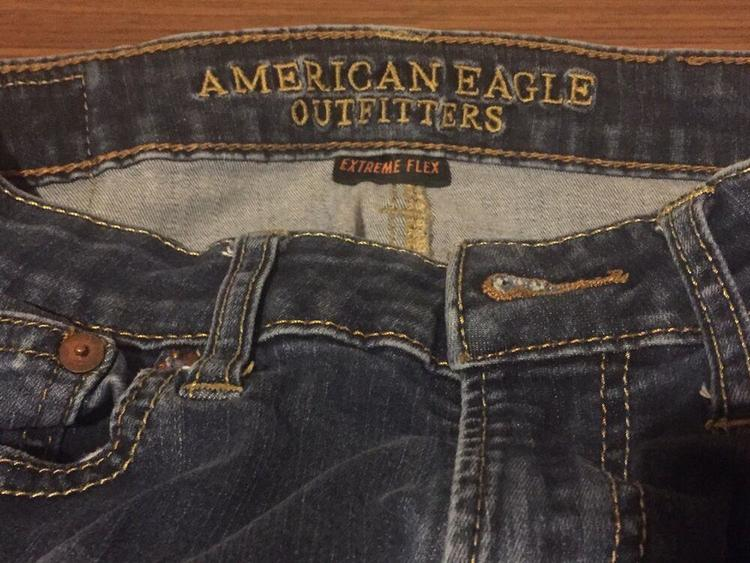 American Eagle Extreme Flex Slim Straight Jeans 28 X 30 Boys Mens Aeo Outfitters Apparel Pants