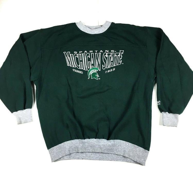 Michigan State Champion NCAA Hooded Sweatshirt Green