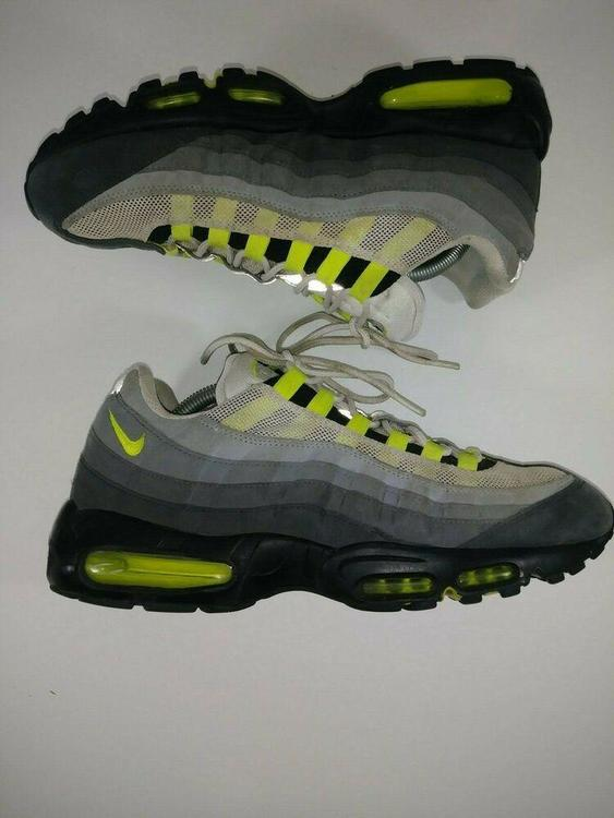 Nike Air Max 95 Lime Green Sneakers Men's Size 11 Shoes 609048 072