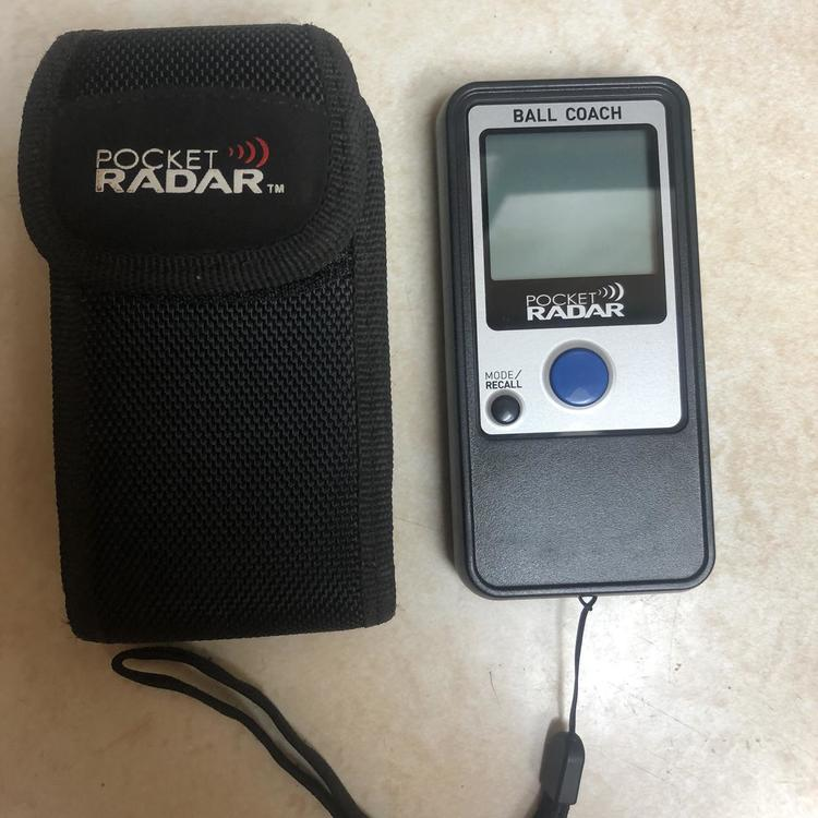 Pocket Radar Ball Coach