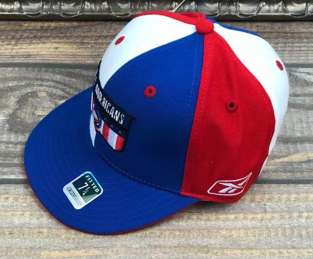 Reebok Cincinnati Bengals Fitted Flat Bill Hat Size 7 3//8 TM104