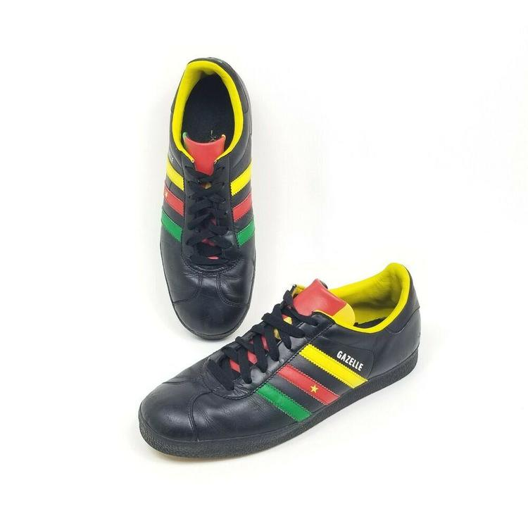 Adidas Gazelle II Cameroon Black