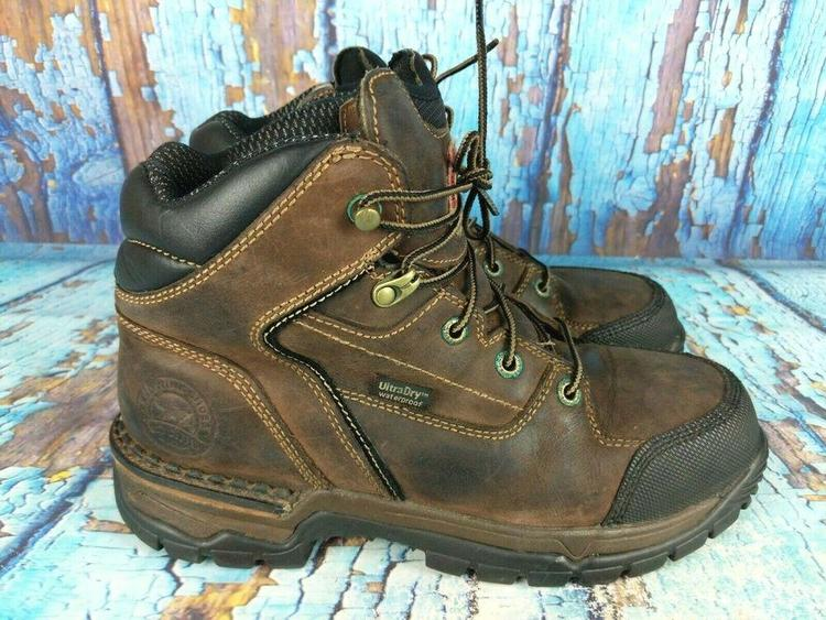 Red Wing Irish Setter 83200 Brown Leather Steel Toe 6