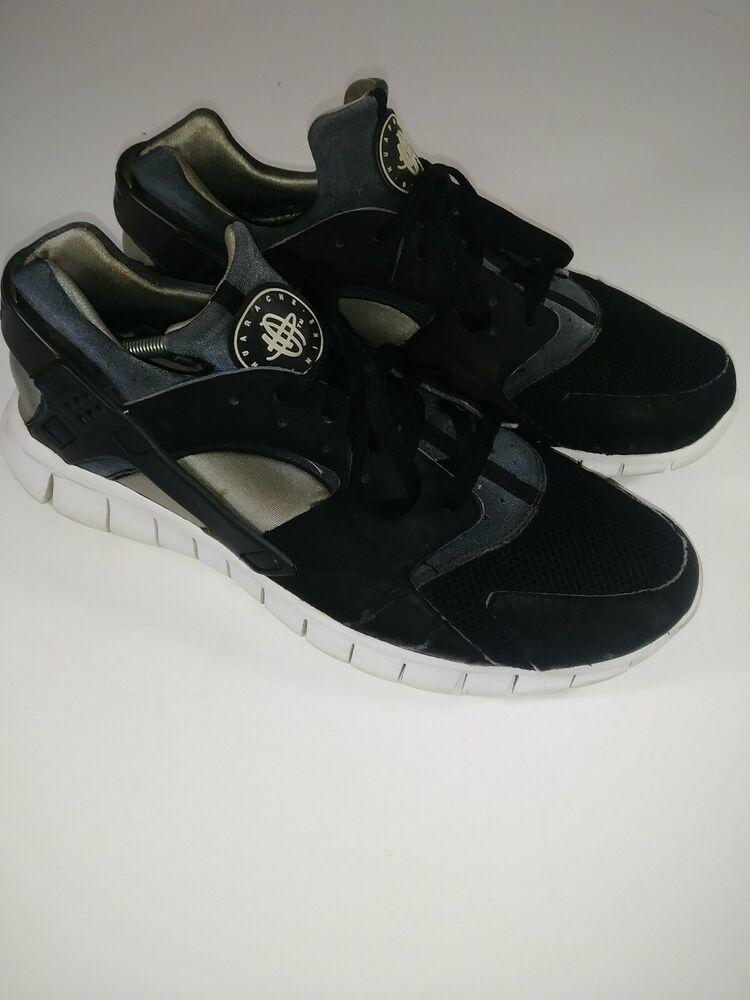 Nike Huarache Free Stealth Black/Grey