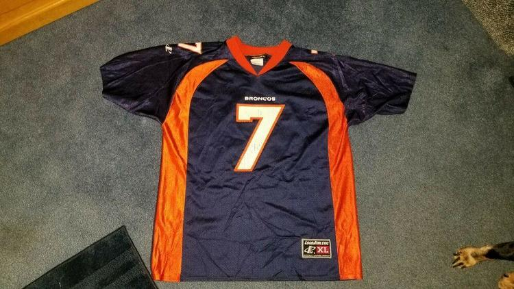 Denver Broncos John Elway 7 Vintage