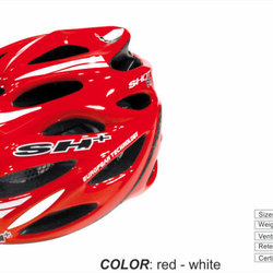 SH Plus Shot Cycling Bicycle Helmet SH+ White//Red Was $170 Kask Giro Bell