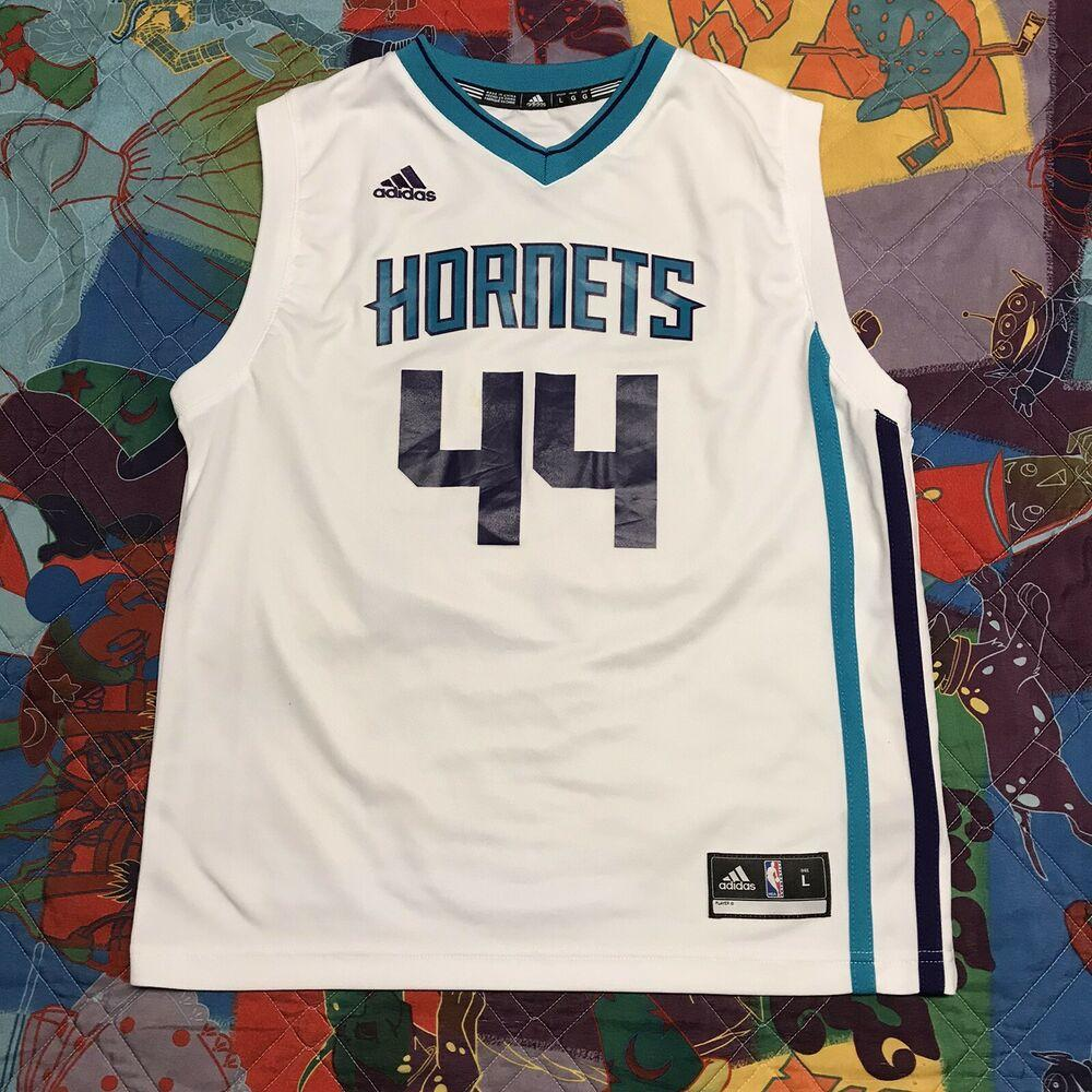 Frank Kaminsky Charlotte Hornets Jersey Youth Boys Large White NBA ...