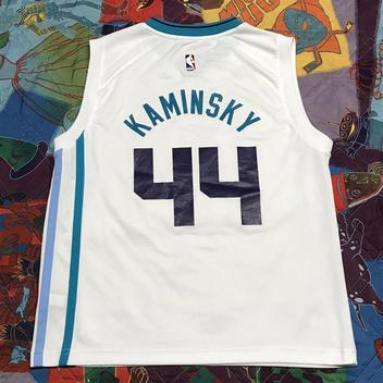 Charlotte Hornets #44 Frank Kaminsky NEWCity Edition Swingman Jersey