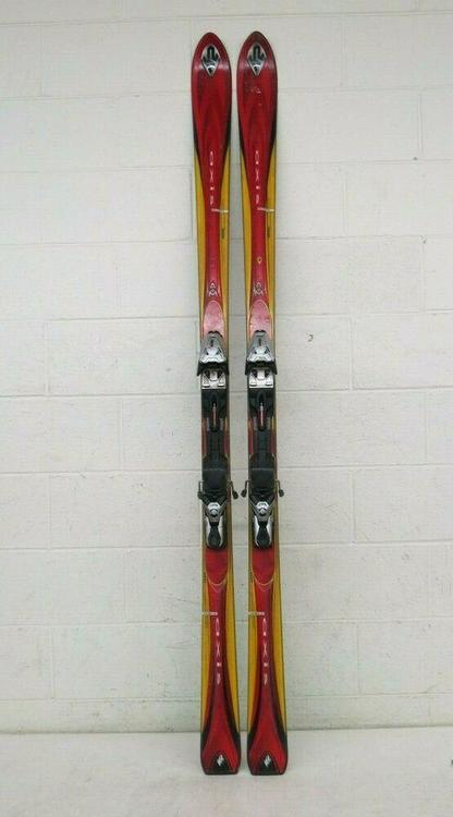 K2 Axis MOD X 188cm 107 70 97 Downhill Skis wmarker Titanium 1300 Bindings LOOK