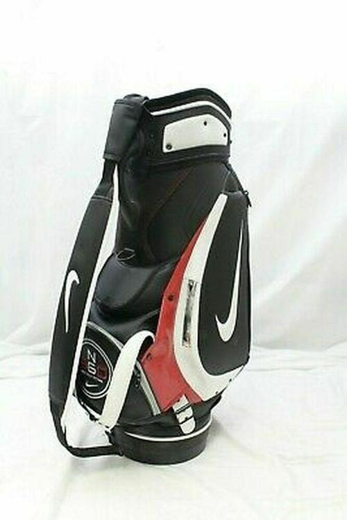 Nike Ng 360 Ing Staff Bag Black Wht Red 9 6 Way Top Golf