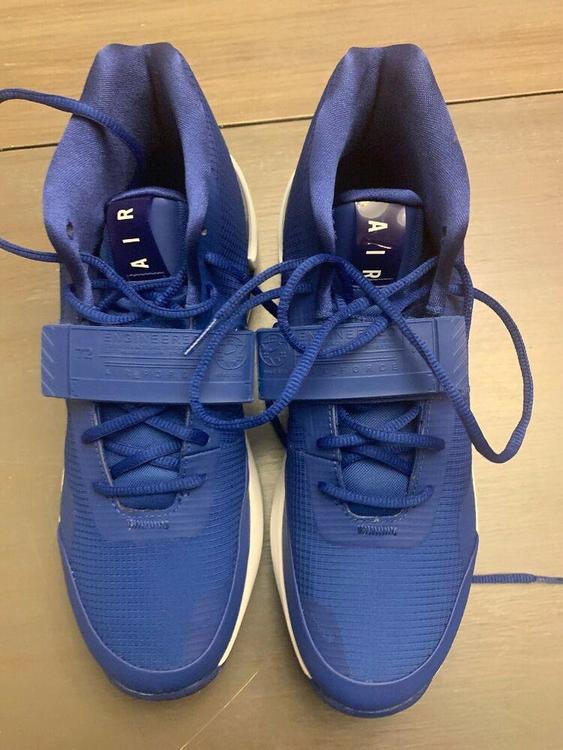 NIke Air Force Max 19 TB Promo Basketball Shoes AR4095 403 Blue Size 10 Men's