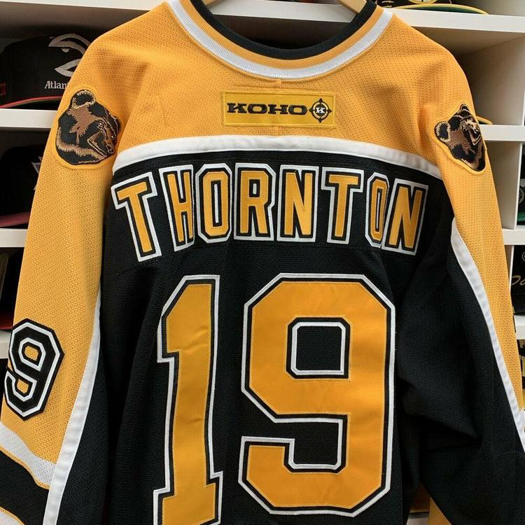 Boston Bruins Joe Thornton Jersey Adult