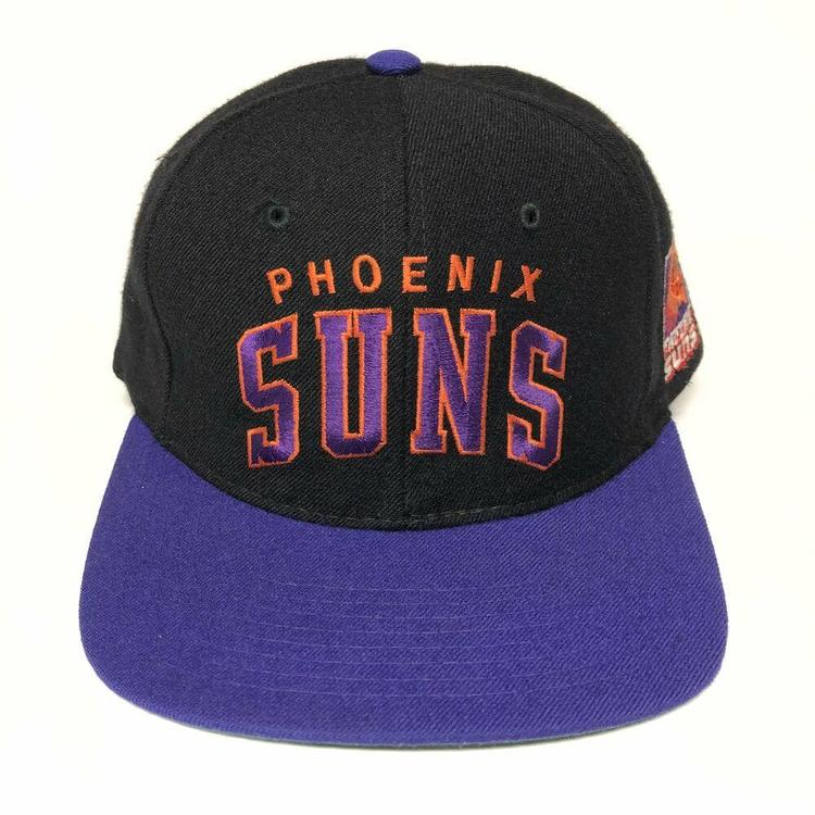 hot sale premium selection many fashionable Starter Vintage Phoenix Suns Snapback Hat Wool Arch NBA Cap Nash ...