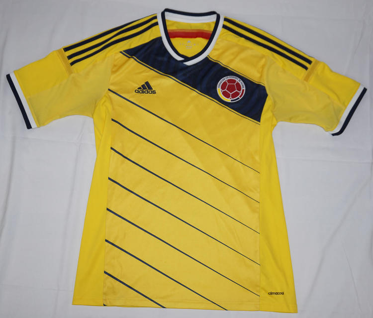 colombia soccer jersey