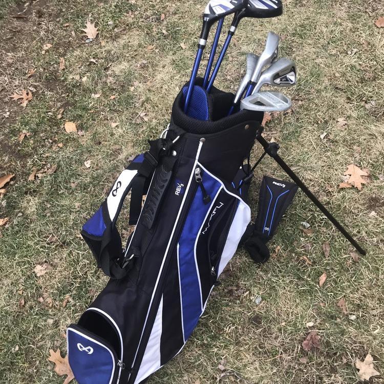 Maxfli Junior Left Handed Full Set 7 Sold Golf Clubs Sidelineswap
