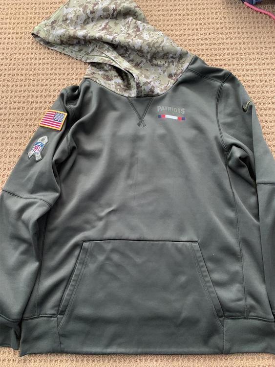 new england patriots salute to service sweatshirt