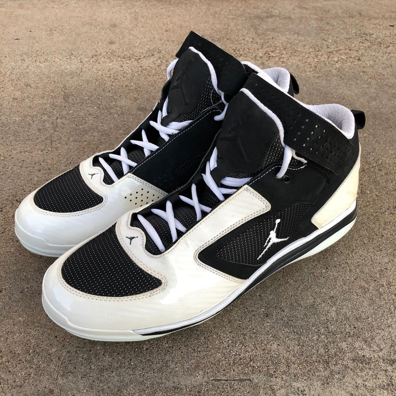 Jordan Jeter Diamond Cat Cleats sz 12
