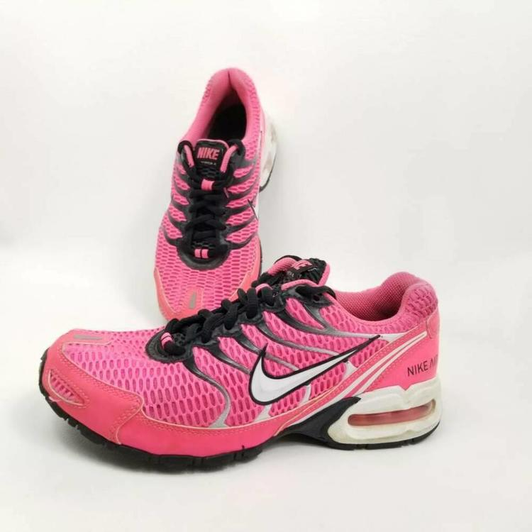 Nike Air Max Torch 4 Womens 7 Running Shoes Pink Lace Up Low Sneakers 343851 610