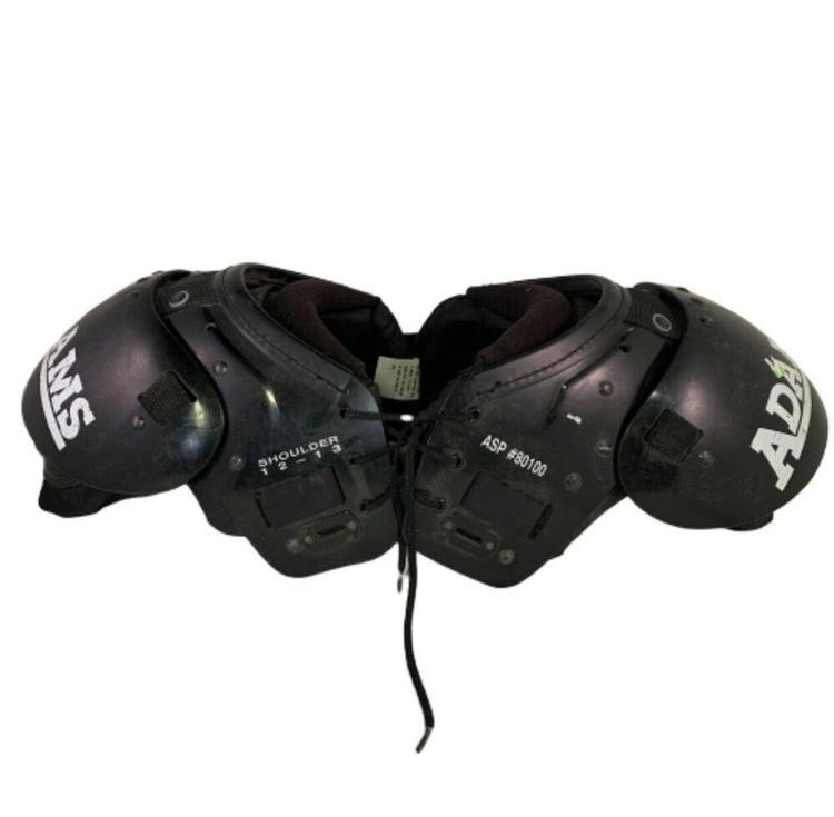 "80 12/""-13/"" Riddell Warrior iiX Youth Football Shoulder Pads Size Medium"