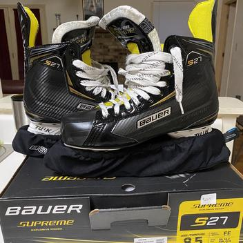 Bauer IMPACT 50 - ICE SIZE 5 JUNIOR REGULAR USED 2000s | SOLD