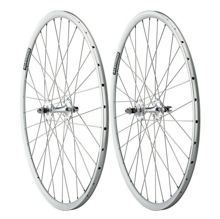Bike Wheel Skewer Set Alex Rims Quick Release Front /& Rear Black