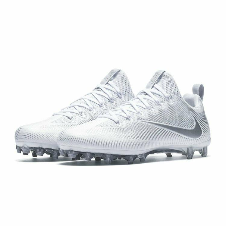 New Nike Men's Football Cleats Vapor Untochable Pro Low cut White silver sz  16 No Trades