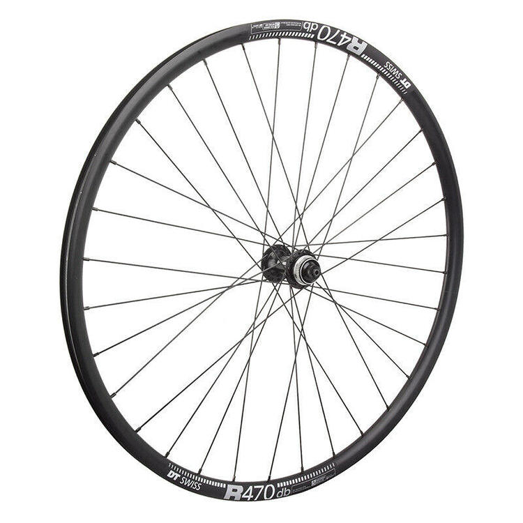 DT R 470 Road Disc Brake Gravel CX Bike Wheelset 32 hole Shimano RS505 hubs QR