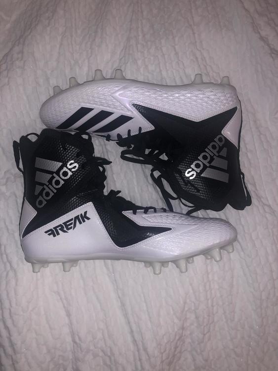 Adidas White New Adult 11.5 (Women's 12