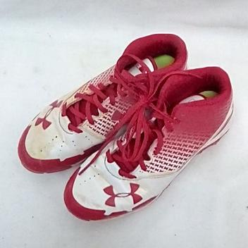 Under Armour Used Spine Heater Mid Sz 5 Bb Cleats