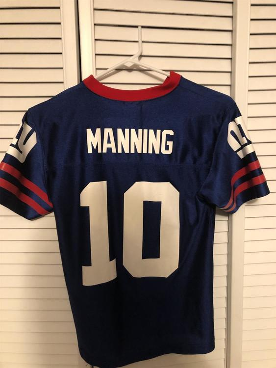 Reebok Eli Manning Blue Youth Medium