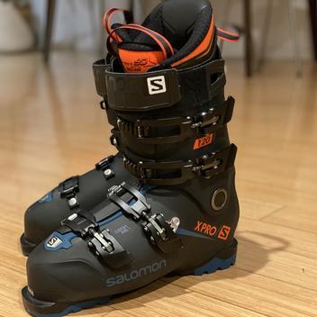 Salomon Performa 5.0 Women's Downhill Ski Boots MDP 24 US 6.5 GREAT LOOK