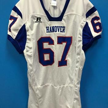 NEW Russell Athletic Adult Hanover Football Jersey Color White ...