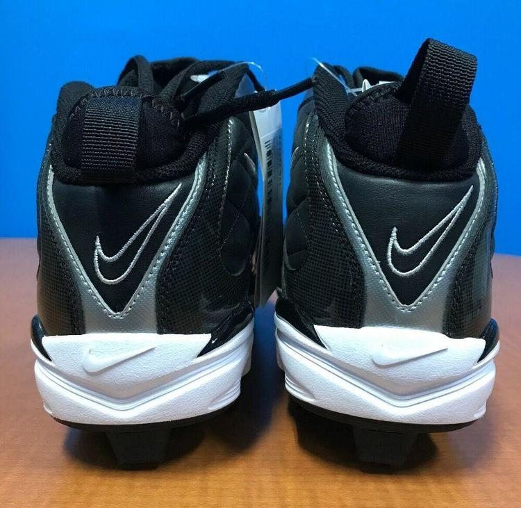 Nike NIB Men's Air MVP Conversion Cleat Shoes Color Black White Size 9 US NEW *FIRM PRICE* Baseball fott?ySidelineSwap Baseball fott?y SidelineSwap