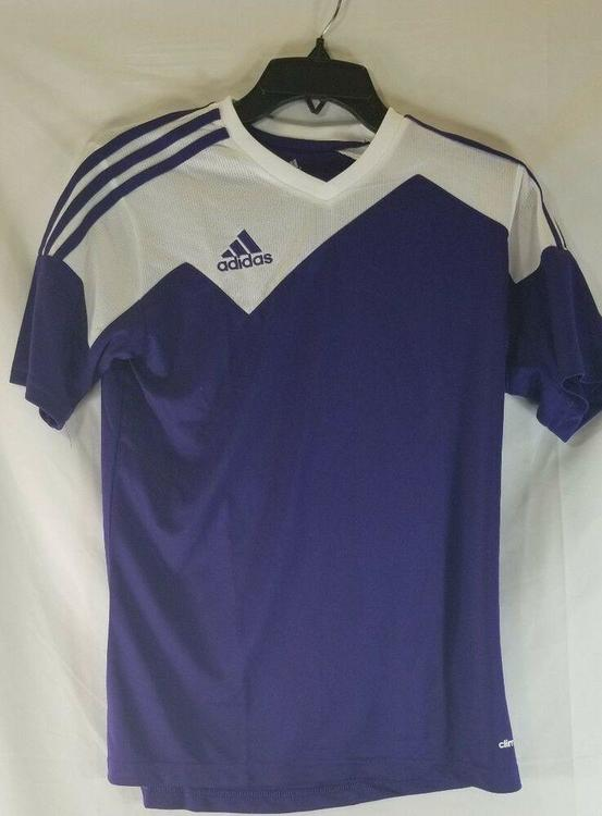 Adidas Climacool Toque 13 Purple Soccer Jersey Youth Large NEW *FIRM PRICE*