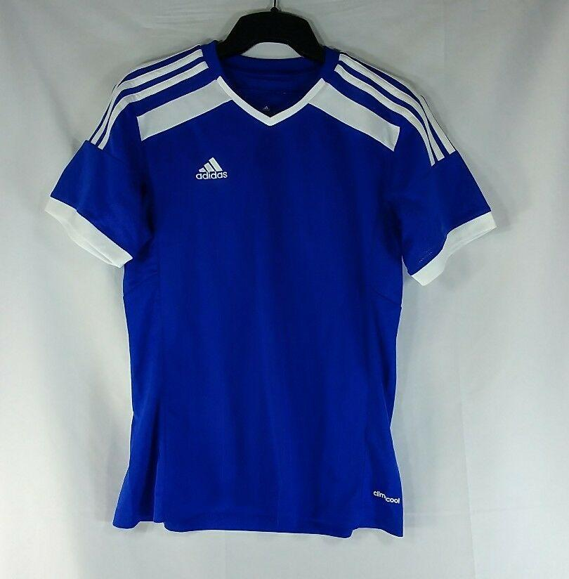 Adidas Youth Junior Jersey Soccer Youth Small Blue White Firm Price