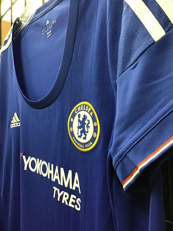 NEW Adidas Chelsea FC 2015/16 Home Soccer Jersey Blue Size Women's Large NWT FIRM PRICE | SidelineSwap