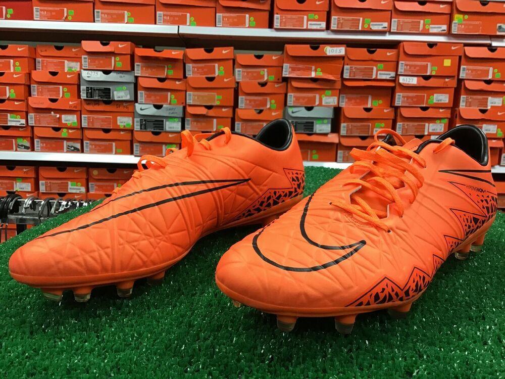 Nike Hypervenom Phatal II FG Men 10.5 Cleat Total Orange ...