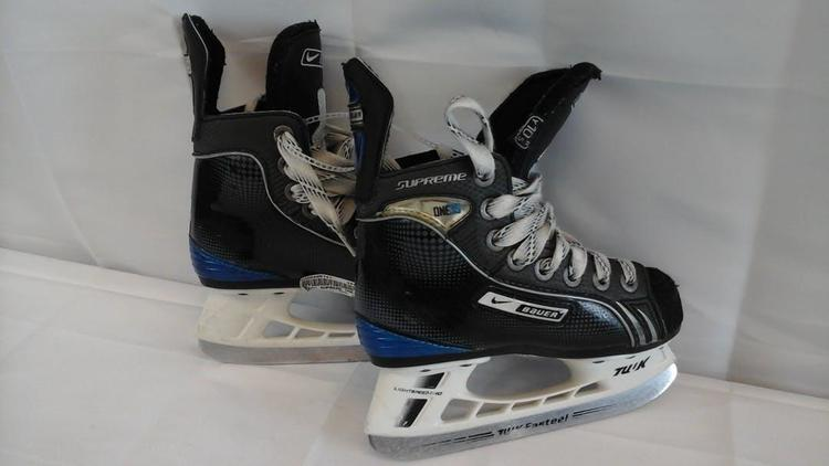Bauer Used Supreme One35 Youth 10 5 Ice Ice | Hockey Skates