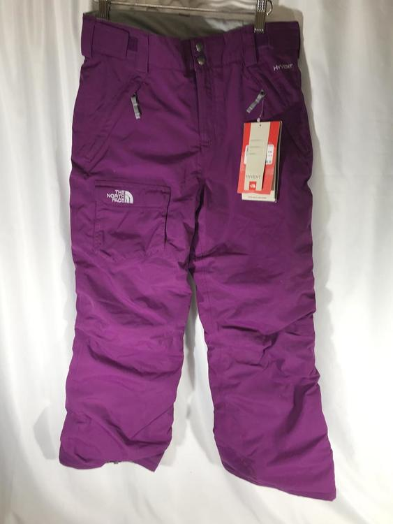 The North Face Used Hyvent Junior 14 16 Winter Outerwear Pants Skiing Apparel Outerwear