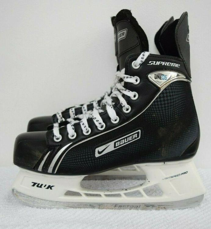 Bauer SUPREME ONE 05 ICE MEN SIZE 9 5 | Hockey Skates | SidelineSwap