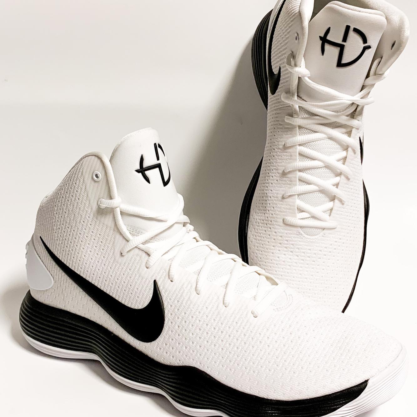 Nike Mens Hyperdunk 2017 White Black