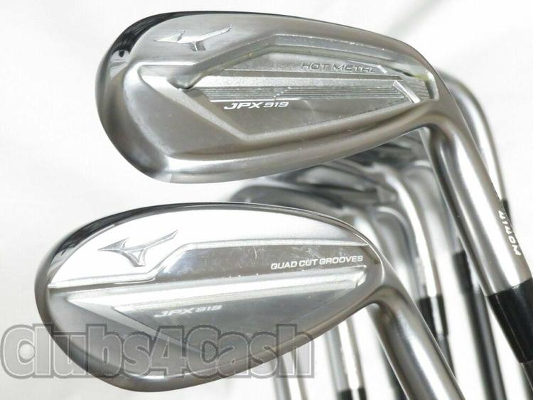 order online skate shoes factory price Mizuno JPX 919 Hot Metal Irons Project X LZ 4.0 A Flex 5-P, 50 ...