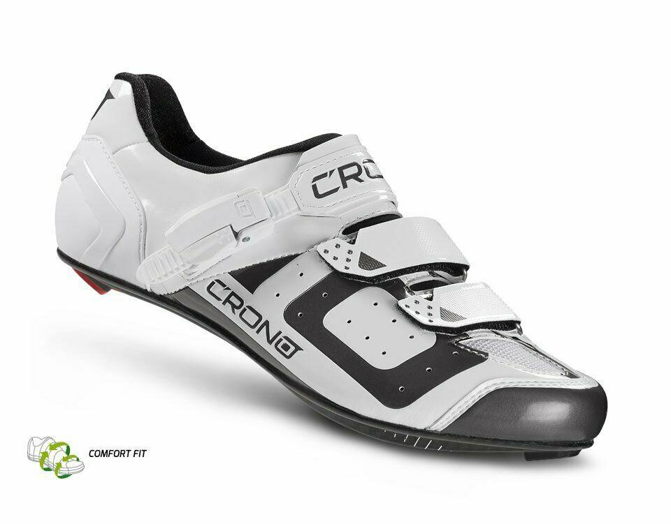 Details about  /Crono CR-3 Carbon RED Road Bike Shoe Multiple Sizes Available