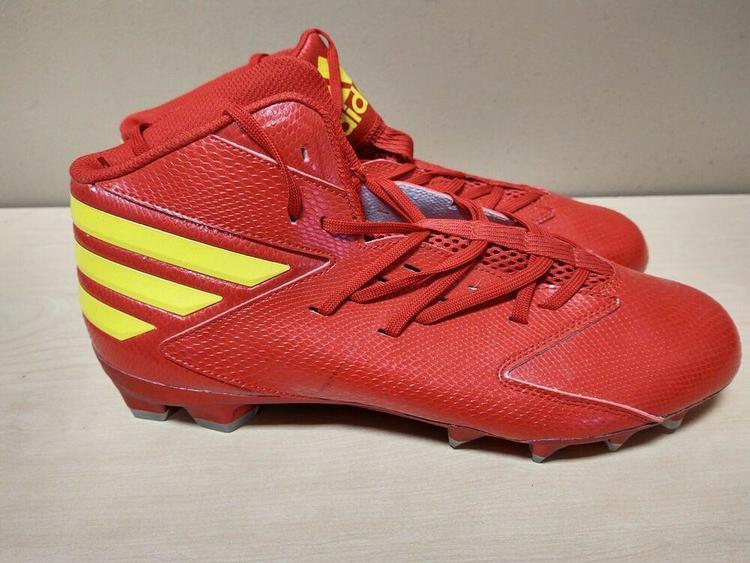 Red/Yellow Sz 13 CG4261 | Football Cleats