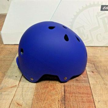 Electra Bicycle Helmet Cobalt Blue Matte ABS Hardshell CPSC Size Small Charity!