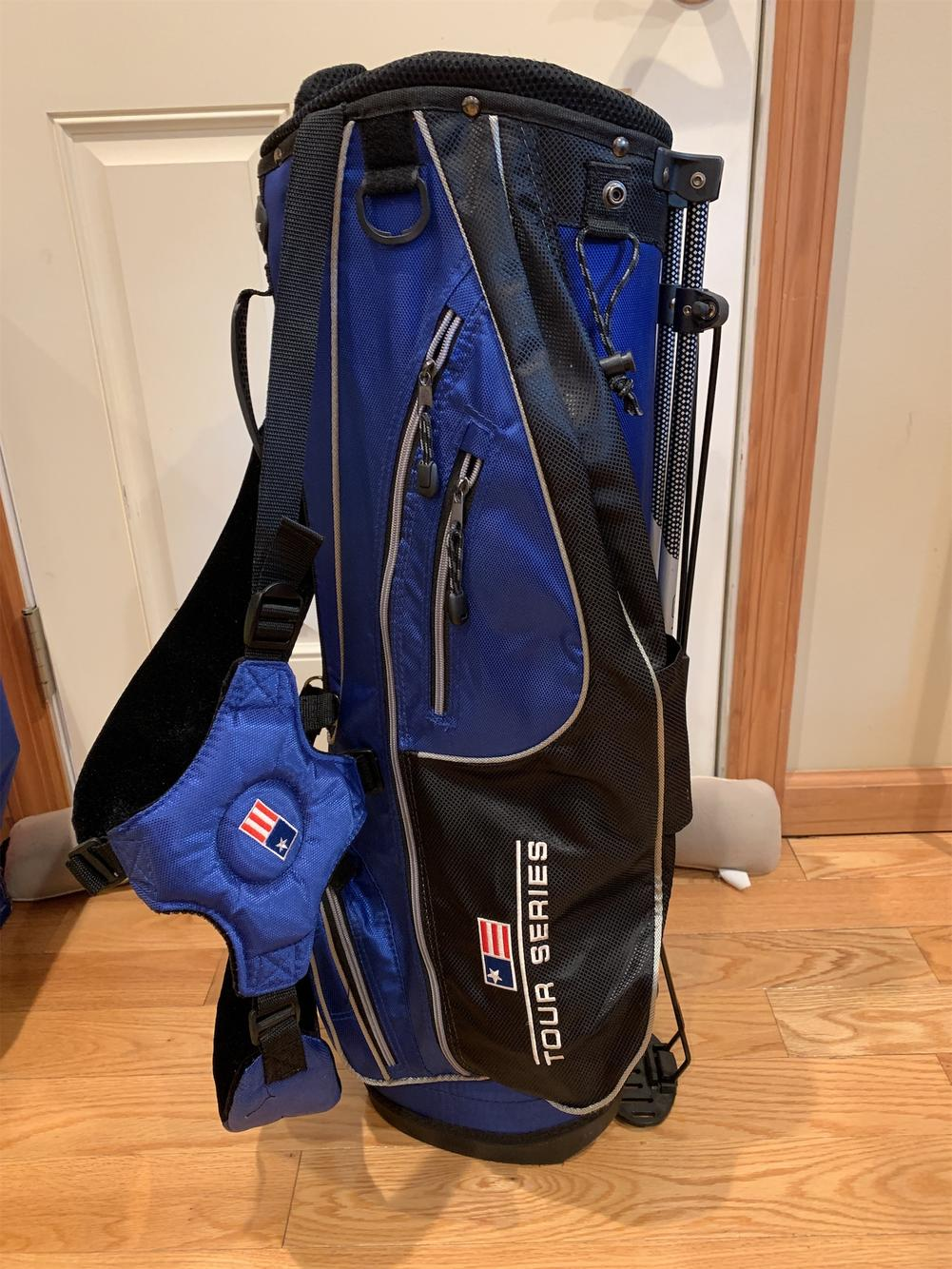 Kids Junior Bag Bumped Golf Bags Carts