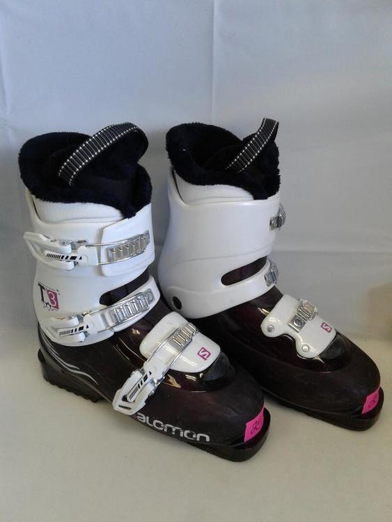 Used Salomon Evolution 8.0 255 Mp M07.5 W08.5 Downhill Ski Womens Boots