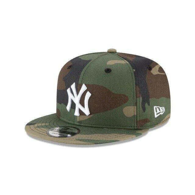 New Era New York Yankees Adjustable 9Fifty MLB Flat Bill Baseball Cap 950