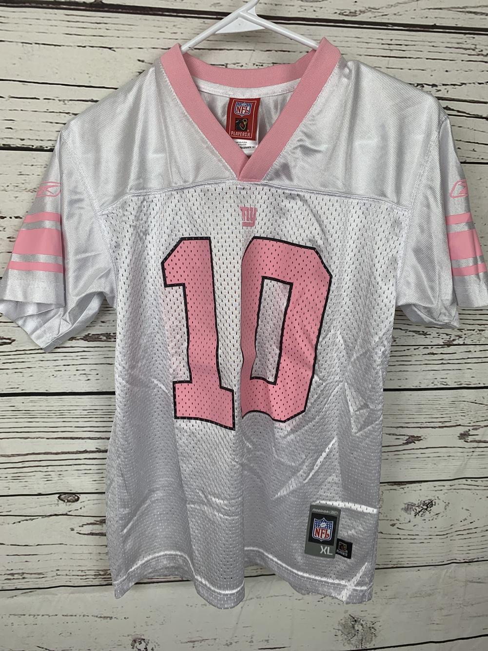 Eli Manning Girls Extra Large NY Giants Reebok Jersey | SidelineSwap